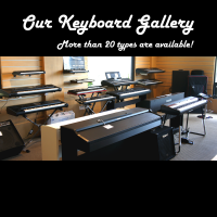 Keyboard & Drums Room